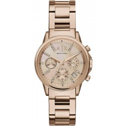 Buy Women's Armani Exchange Watch Lady Banks AX4326 Chronograph