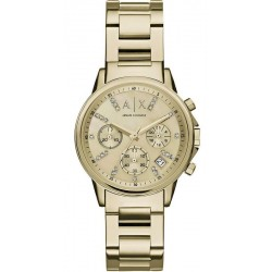 Buy Women's Armani Exchange Watch Lady Banks AX4327 Chronograph