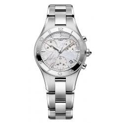 Buy Women's Baume & Mercier Watch Linea 10012 Chronograph Mother of Pearl