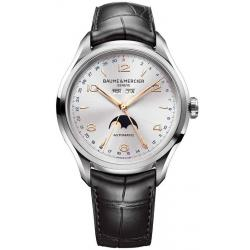 Men's Baume & Mercier Watch Clifton 10055 Moonphase Automatic