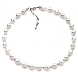 Buy Women's Boccadamo Necklace Perle GR499 Swarovski
