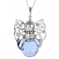 Buy Women's Boccadamo Necklace Kerubina KUGR01 Swarovski Angel