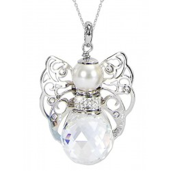 Buy Women's Boccadamo Necklace Kerubina KUGR02 Swarovski Angel