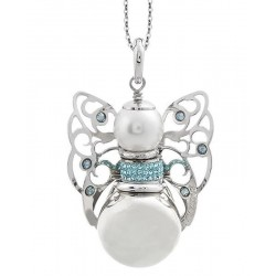 Buy Women's Boccadamo Necklace Kerubina KUGR21 Swarovski Angel