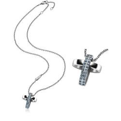 Buy Women's Breil Necklace Charming Cross TJ1462