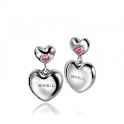 Buy Women's Breil Earrings Love Around TJ1704 Heart