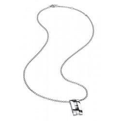 Buy Men's Breil Necklace Be Black TJ1926