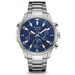Buy Men's Bulova Watch Marine Star 96B256 Quartz Chronograph