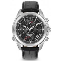 Buy Men's Bulova Watch Dress Precisionist 4 Eye 96B259 Quartz Chronograph