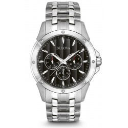 Buy Men's Bulova Watch Dress 96C107 Quartz Multifunction