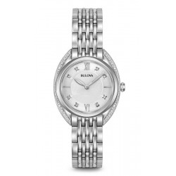 Buy Women's Bulova Watch Curv Diamonds 96R212 Quartz