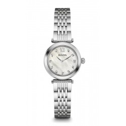 Buy Women's Bulova Watch Diamonds 96S167 Mother of Pearl Quartz