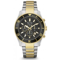 Buy Men's Bulova Watch Marine Star 98B249 Quartz Chronograph