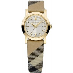 Women's Burberry Watch The City Nova Check BU1399