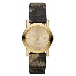 Buy Women's Burberry Watch The City Nova Check BU1875