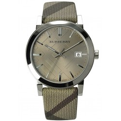 Unisex Burberry Watch The City Nova Check BU9023