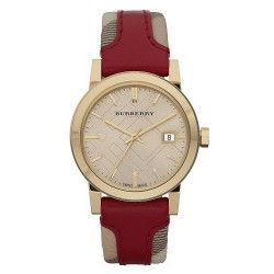 Buy Women's Burberry Watch Heritage Nova Check BU9111