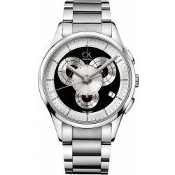 Buy Men's Calvin Klein Watch Basic K2A27104 Chronograph