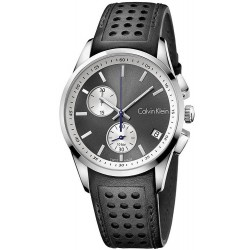 Buy Men's Calvin Klein Watch Bold K5A371C3 Chronograph