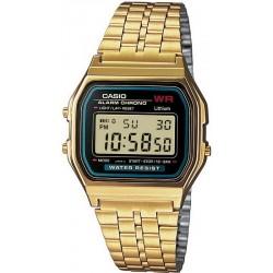 Buy Casio Collection Unisex Watch A159WGEA-1EF Multifunction Digital
