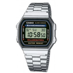 Buy Casio Collection Unisex Watch A168WA-1YES Multifunction Digital