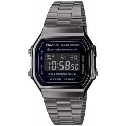 Buy Casio Vintage Unisex Watch A168WEGG-1BEF