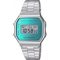Buy Casio Vintage Unisex Watch A168WEM-2EF