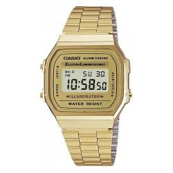 Buy Casio Collection Unisex Watch A168WG-9EF Multifunction Digital
