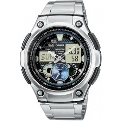 Buy Casio Collection Men's Watch AQ-190WD-1AVEF Multifunction Ana-Digi