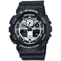 Buy Casio G-Shock Men's Watch GA-100BW-1AER