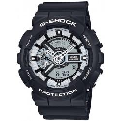 Casio G-Shock Men's Watch GA-110BW-1AER Multifunction Ana-Digi