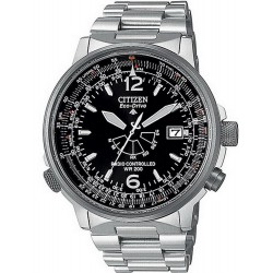 Men's Citizen Watch Promaster Nighthawk Radio Controlled AS2020-53E