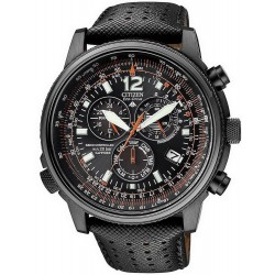 Men's Citizen Watch Chrono Eco-Drive Radio Controlled AS4025-08E