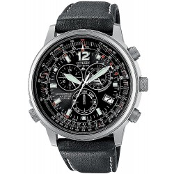 Men's Citizen Watch Chrono Eco-Drive Radio Controlled Titanium AS4050-01E