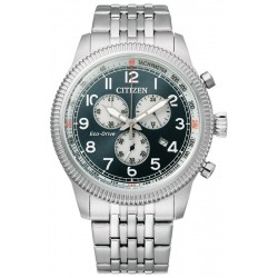 Buy Mens Citizen Watch Aviator Chrono Eco Drive AT2460-89L