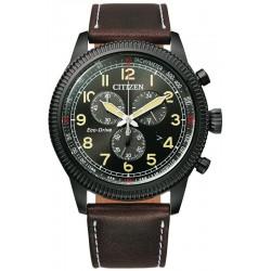 Buy Mens Citizen Watch Aviator Chrono Eco Drive AT2465-18E