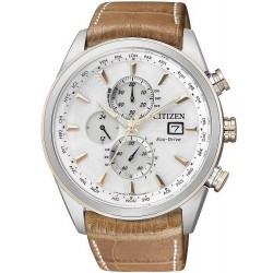 Men's Citizen Watch Chrono Eco-Drive Radio Controlled AT8017-08A