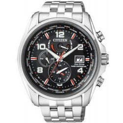 Buy Men's Citizen Watch Radio Controlled Chrono Eco-Drive AT9030-55F