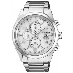 Men's Citizen Watch Super Titanium Chrono Eco-Drive CA0650-82A