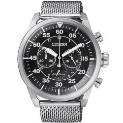 Buy Men's Citizen Watch Aviator Chrono Eco-Drive CA4210-59E