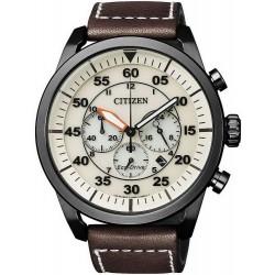 Buy Men's Citizen Watch Aviator Chrono Eco-Drive CA4215-04W
