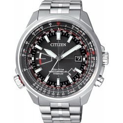 Buy Men's Citizen Watch Pilot Radio Controlled Titanium Evolution 5 CB0140-58E