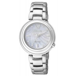 Buy Women's Citizen Watch Eco-Drive EM0331-52D Mother of Pearl