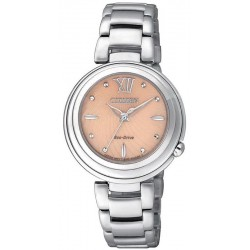 Buy Women's Citizen Watch Eco-Drive EM0331-52W Mother of Pearl