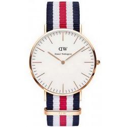 Buy Men's Daniel Wellington Watch Classic Canterbury 40MM DW00100002