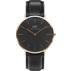 Buy Men's Daniel Wellington Watch Classic Black Sheffield 40MM DW00100127