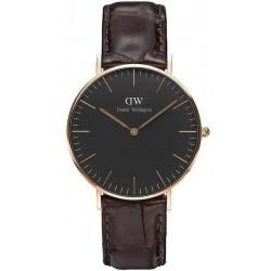 Buy Unisex Daniel Wellington Watch Classic Black York 36MM DW00100140