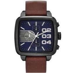 Buy Men's Diesel Watch Double Down Square DZ4302 Chronograph
