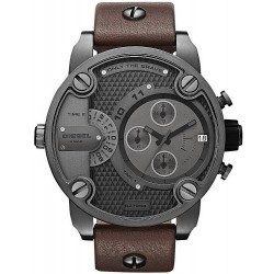 Buy Men's Diesel Watch Little Daddy DZ7258 Dual Time Chronograph