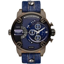 Buy Men's Diesel Watch Little Daddy DZ7320 Dual Time Chronograph